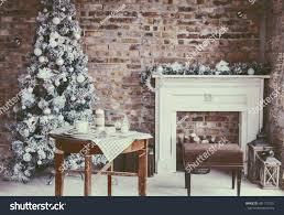 loft home decor royalty free winter home decor christmas tree in 481717201 stock
