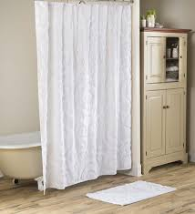 plush chenille bath set shower curtain and bath mat shower