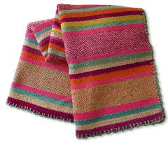 Bright Colored Rugs Peruvian Frazada Style Wool Rug Blanket Bold U0026 Bright Colors