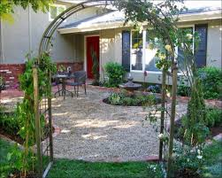 Patio Rock Ideas Exteriors Wonderful Pea Gravel Landscaping Ideas Gravel And