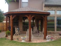 Patio Gazebos Gazebo Type Patio Cover In Mckinney Tx Hundt Patio Covers And Decks