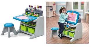 step 2 easel desk step2 flip doodle easel desk stool only 35 99 down from 100