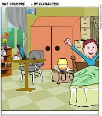 vocabulaire de la chambre la classe de français vocabulaire en images la chambre la maison