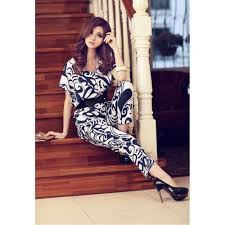 stylish jumpsuits plunging neck stylish sleeve jumpsuit for with