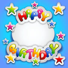 birthday greeting cards happy birthday greeting card idea with colorful font and