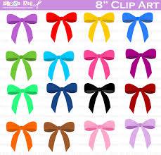 bows clip art digital clipart birthday party clip art
