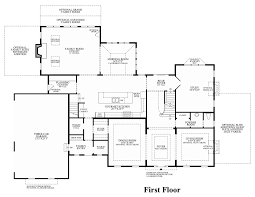 Georgian Floor Plan by Toll Brothers At Montcaret The Milverton Home Design