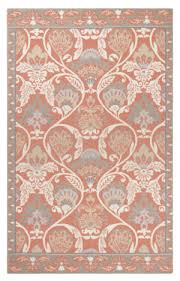 Coral Area Rugs Coral Color Rug At Rug Studio