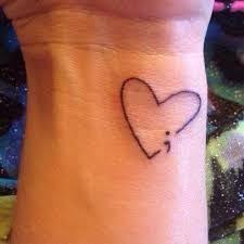 25 beautiful heart tattoos on wrist ideas on pinterest heart