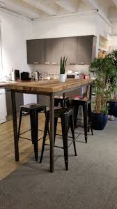 Dining Tables Farmhouse Kitchen Table Sets Industrial Reclaimed by Best 25 Bar Tables Ideas On Pinterest Tall Table Height Pertaining