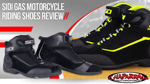 womens motorcycle riding shoes sidi gas motorcycle riding shoes review youtube