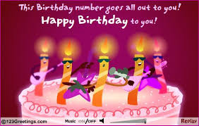 Happy Birthday Wishes In Songs Birthday Card Amazing Happy Birthday Card With Song Email