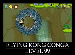 Scribblenauts Memes - scribblenauts unlimited flying kong conga lv99 by