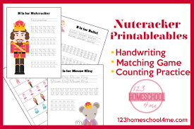 free nutcracker printables