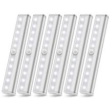 battery operated led lights for kitchen cabinets 6 pack wireless cabinet lighting battery powered led