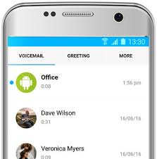 visual voicemail for android touch voicemail visual voicemail app for your android