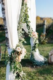 wedding arch garland garland and drapery wedding arch elizabeth designs the