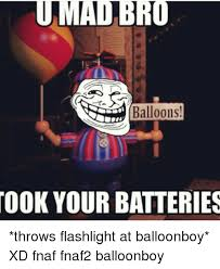 Balloon Boy Meme - umaibro balloons took your batteries throws flashlight at
