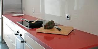 cuisine et plan de travail cuisine plan de travail de cuisine moderne clair en quartz