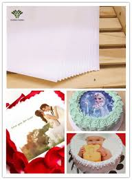 edible sheets blank edible wafer paper rice paper italy cake topper icing