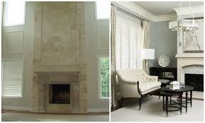 How To Resurface A Brick Fireplace by Ideas For Refacing Your Fireplace Old World Stoneworks