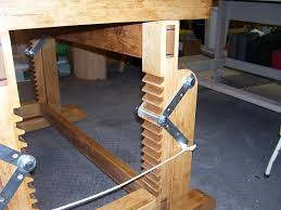 Woodworkers Bench Plans Adjustable Height Workbench By Lenny Lumberjocks Com