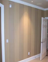 idea for painting over the wood panelling in the basement a clear