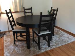 ikea bjursta extendable table brown black ikea bjursta extendable table brown black modern coffee tables and