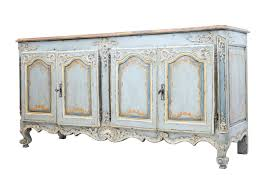 rare 18th century french oak painted dresser sideboard c 1770