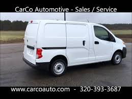 nissan nv200 cargo nissan nv200 sv cargo van for sale by carco automotive youtube