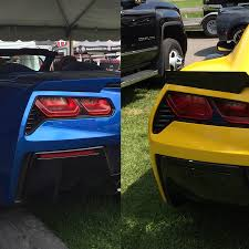 corvette stingray z06 acs composite corvette c7 blackout side and rear bumper led