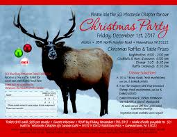 Christmas Party Ticket Sci 2017 Christmas Party Sci Wisconsin Chapter