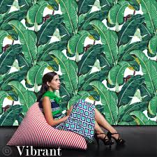 Temporary Fabric Wallpaper by Banana Leaf Removable Wallpaper Peel U0026 Stick Self Adhesive