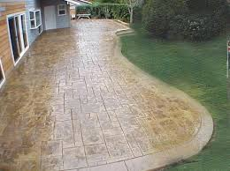 stamped cement patios u2013 smashingplates us