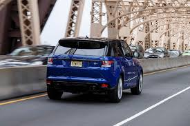 luxury land rover 2016 land rover range rover sport svr first drive review digital