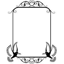bird frame frame wall sticker world of wall stickers