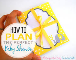 how to plan the perfect baby shower the inspiration party by