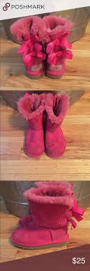 s pink ugg boots sale toddler pink ugg boots s n 3280t size 11 shoe boot