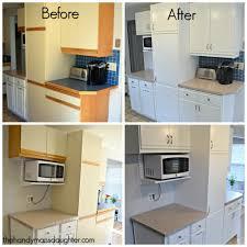 Refinishing Oak Cabinets Updating Wooden Kitchen Cabinets Monsterlune