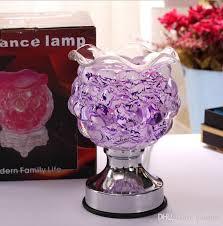 plug electric plating colorful big grape fragrance lamp glasses