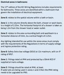 recessed bathroom lighting zone 1 storm led 3 light flush ceiling