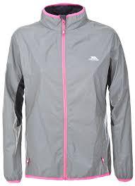 ladies bike jacket trespass women u0027s lumi active jacket amazon co uk sports u0026 outdoors