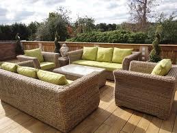 canapé de jardin en résine mobilier de jardin resine fauteuil salon de jardin resine tressee