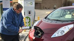 nissan leaf not charging in america u0027s heartland a power company leads charge for electric