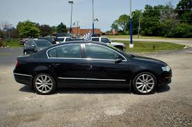 2008 volkswagen passat black used sports car sedan sale