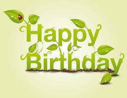 Halloween Birthday Greeting Messages by Happy Birthday Spring Gardener Lady Bug Birthday Wishes