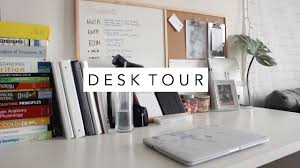 How To Organize My Desk Desk Tour How I Organize My Study Desk Laurie Lo