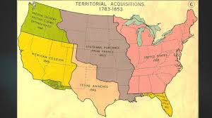 Louisiana Purchase Map by Quia Class Page Westward Expansion Map 253 U S Civil War And