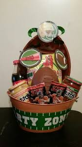 raffle gift basket ideas football raffle basket by tina raffle