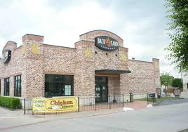 backyard burgers out chicken express going in lake highlands